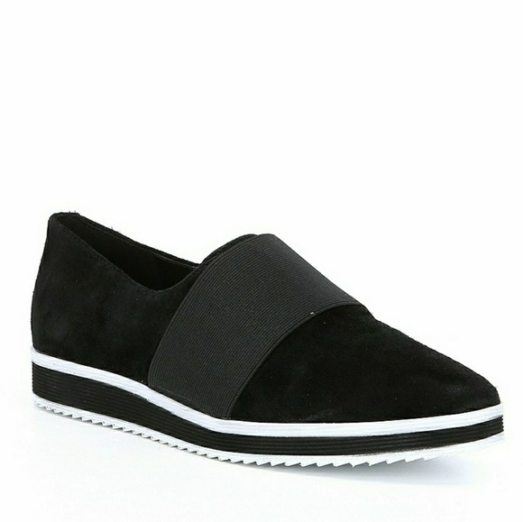 55f813a696 Karl Lagerfeld Shoes - KARL LAGERFELD PARIS black suede Kristi slip on
